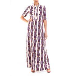 Jucca Vestido largo de - Multicolor