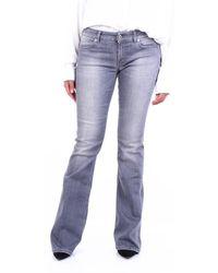 Dondup Jeans fond large - Gris