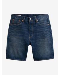 Levi's 501 Hemmed Pantalones Cortos - Azul