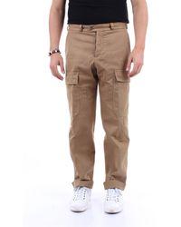 PT Torino Pantalone cargo color sabbia - Multicolore