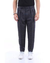 PT Torino Pantalone chino bicolore - Multicolore
