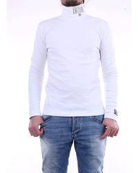 Versace Jeans Couture Suéter de cuello alto - Blanco