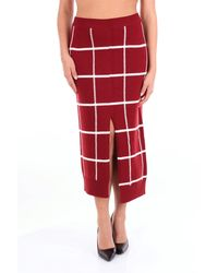 Mrz Trousse falda - Rojo
