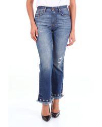 Roy Rogers Trousse jeans - Bleu