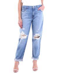 J Brand Jeans boyfriend - Bleu