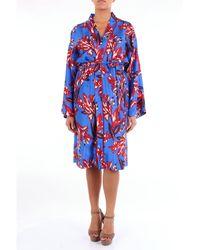 P.A.R.O.S.H. Trousse kimono - Azul