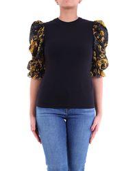 Versace Jeans Couture T-shirt à manches courtes - Noir