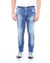 Dondup Jeans delgado - Azul