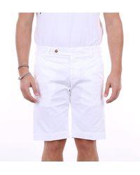 Entre Amis Pantalones cortos bermudas - Blanco