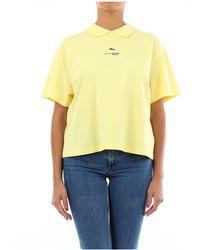 Lacoste Polo de manga corta - Amarillo