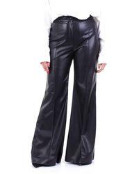 Jucca Pantalon patte - Noir