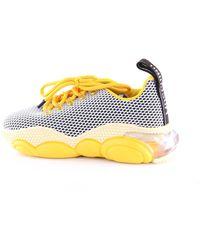 Moschino Sneakers di colore giallo e nero