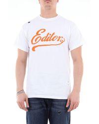 Saucony T-shirt à manches courtes avec imprimé - Blanc
