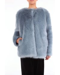 Pinko Fourrure - Bleu