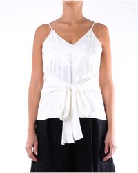 MSGM Shirts blouses - Blanc