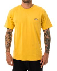 Dickies T-shirt stockdale dk621578apr - Giallo