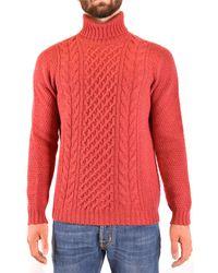 Drumohr Tricots foulard - Rouge