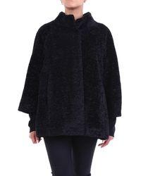 Camilla Prendas de abrigo poncho - Negro