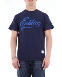 Saucony Camiseta de manga corta con estampado - Azul