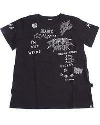 DIESEL Camiseta negra de manga corta - Negro