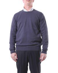 Della Ciana Jersey de cuello redondo - Azul