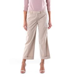 Re-hash Pantalone cropped color - Multicolore