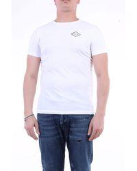 Replay T-shirt con maniche corte di colore bianco