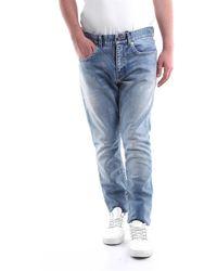 Saint Laurent Vaqueros de 5 bolsillos - Azul