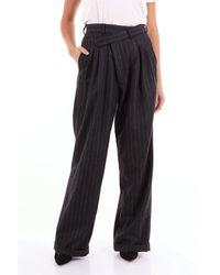 R13 Pantalones clásicos - Negro