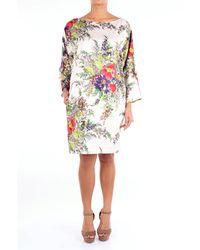 Blumarine - Robes court - Lyst