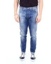 C+ Plus Jeans skinny - Blu