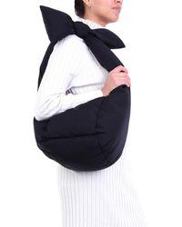 Moncler Bowbrielle small bag di colore nero
