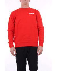 PALETTE COLORFUL GOODS Palette buntes waren es sweatshirt - Rot