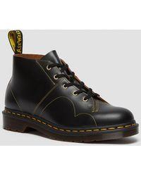 Dr. Martens Church Vintage Monkey Boots - Black