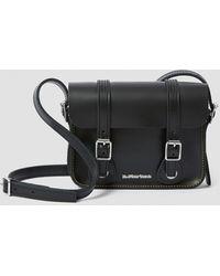 Dr. Martens 7 Inch Leather Crossbody Bag - Black