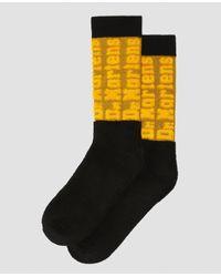 Dr. Martens Dna Cotton Blend Socks - Yellow