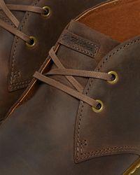 Dr. Martens Cabrillo Men's Crazy Horse Leather Desert Boots - Brown