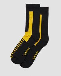 Dr. Martens Double Doc Cotton Blend Socks - Black
