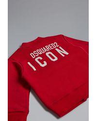 DSquared² Sweatshirt - Rot