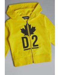 DSquared² Sweatshirt - Gelb