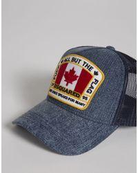 DSquared² - Canada Patch Baseball Cap - Lyst