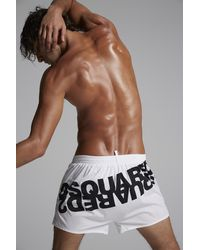 DSquared² Badeboxer - Weiß