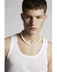 DSquared² Halskette - Weiß