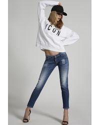 DSquared² Sweatshirt - Weiß