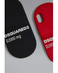 DSquared² IPhone X covers - Schwarz