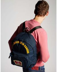 DSquared² - Canadian Flag Backpack - Lyst