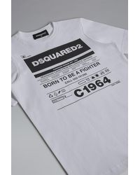 DSquared² Short Sleeve T-shirt - White