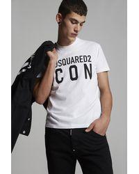 DSquared² Kurzärmliges T-Shirt - Weiß