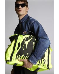 DSquared² Seesack - Gelb