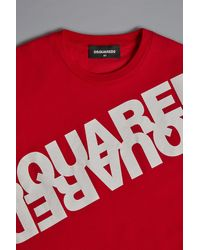 DSquared² Short Sleeve T-shirt - Red